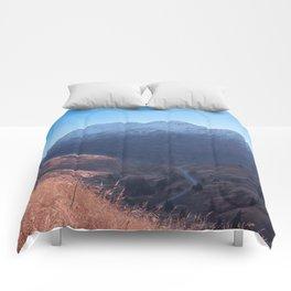 Fall in Alaska Photography Print Comforters