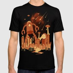Armageddon LARGE Black Mens Fitted Tee