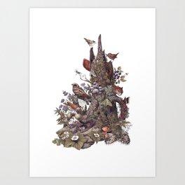 Stump (no labels) Art Print