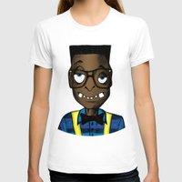 nerd T-shirts featuring Nerd by DeMoose_Art