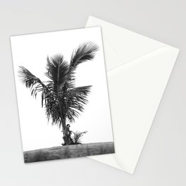 Monkey on Palm Tree Stationery Cards