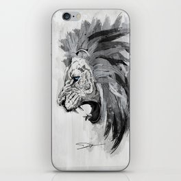 Lion - The king of the jungle iPhone Skin