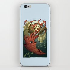 Kraken Attack iPhone & iPod Skin