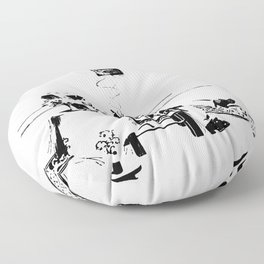 A Smoke Floor Pillow