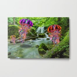 A Chance Encounter Metal Print