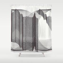 The Slow Joyful Disintegration of Friendship Shower Curtain