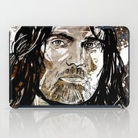 gondor iPad Cases featuring Aragorn by Patrick Scullin