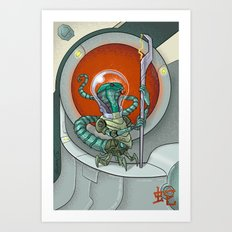 Astro Zodiac Force 06: Snake Art Print