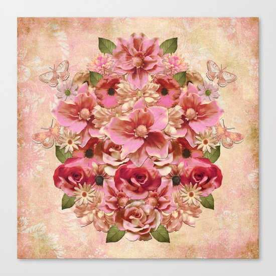 Daybreak Flourish Canvas Print