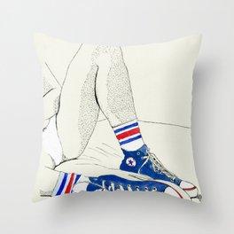 Tube Socks Throw Pillow