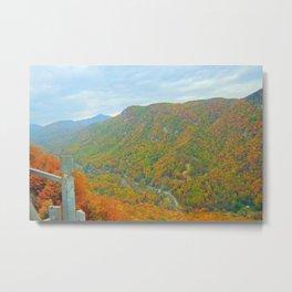 Stunning Mountain Scenery Metal Print