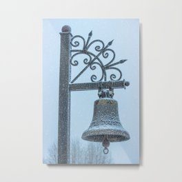 Jingle Bell Metal Print