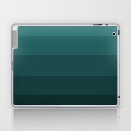 Winter Dark Blue Turquoise Laptop & iPad Skin