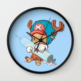 Medical Approval blue Wall Clock