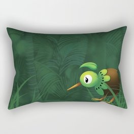 Lost in Godzone Rectangular Pillow