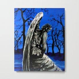 Winter Angel Metal Print