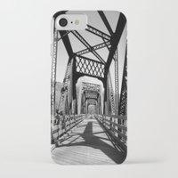 bridge iPhone & iPod Cases featuring Bridge by Danielle Podeszek