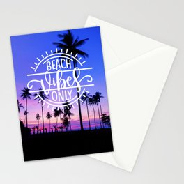 Beach Vibes Only Stationery Cards