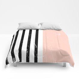 Minimalism Pattern | Blush | Millennial Pink | Modern | Geometric Comforters