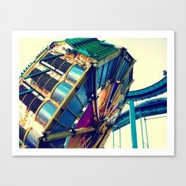 Boardwalk Ride Canvas Print