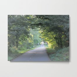 Summer Bicycle Trail Granby St-Paul d'Abbotsford  Metal Print
