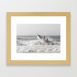 Lifeboat Margate Framed Art Print