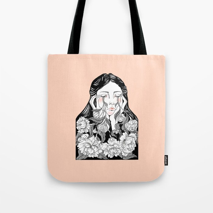 cry me a garden Tote Bag