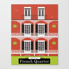 The French Quarter  New Orleans Canvas Print