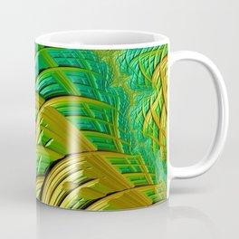 patterns green yellow string Coffee Mug