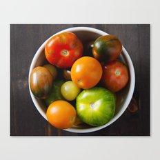 summer produce Canvas Print