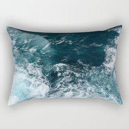 Water (Ocean Waves) Rectangular Pillow