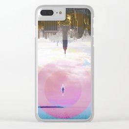 Time Warp Clear iPhone Case