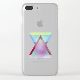 Transformation Clear iPhone Case