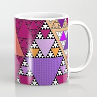 triangle Mugs featuring Triangle by Anne Seltmann