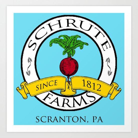 Schrute Farms | The Office - Dwight Schrute Art Print