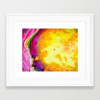 psych Framed Art Prints featuring Psych Juice by Elizabeth Seward
