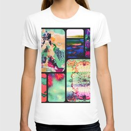 Textured Collage T-shirt