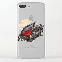 Dead Man Walkman Clear iPhone Case