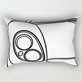 Alfa 33 Stradale Rectangular Pillow