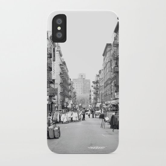 Lower East Side Market iPhone Case
