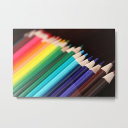 Colored Pencils 2 Metal Print