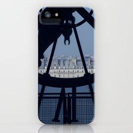 Looking over Paris iPhone Case