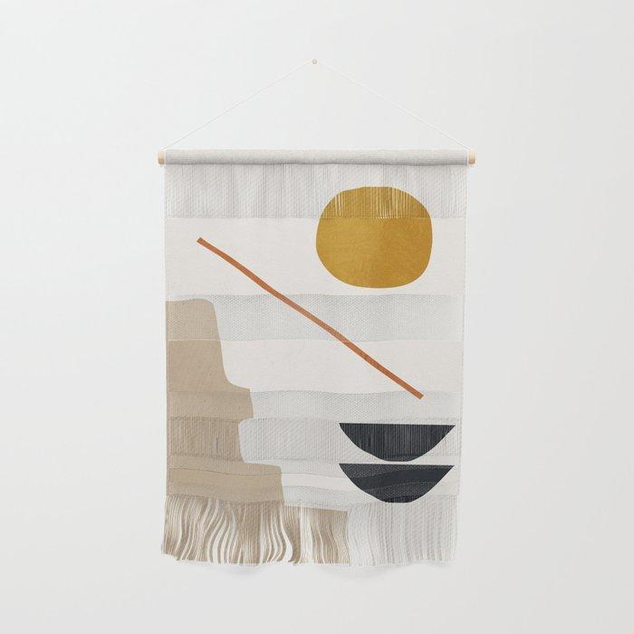 abstract minimal 6 Wall Hanging