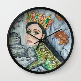 The Mistress Of the Copper Mountain Wall Clock