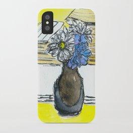 Mini Ikebana on a table iPhone Case
