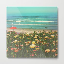 Beachside La Jolla Metal Print