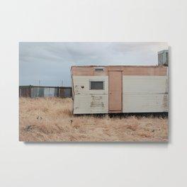 Trailer Home Metal Print