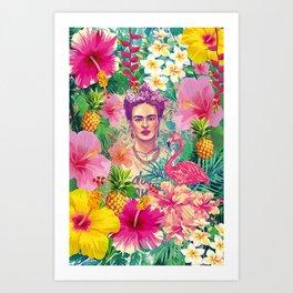 Frida Jungle Art Print