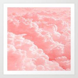 Pink Clouds Art Print