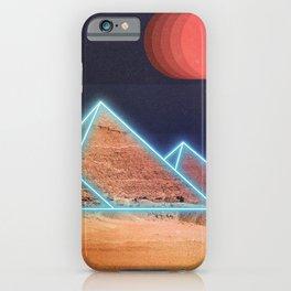 Neon Giza iPhone Case